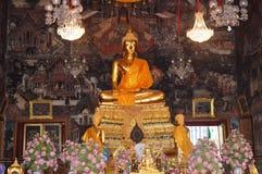 Estátua da Buda do ouro Fotos de Stock