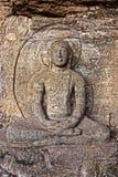 Estátua da Buda do rei Parakramabahu Foto de Stock Royalty Free