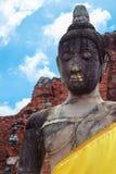A estátua da Buda em Ayutthaya Imagem de Stock Royalty Free