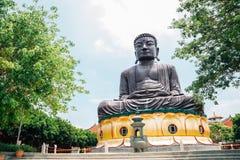 Estátua da Buda em Baguashan em Changhua, Taiwan Fotografia de Stock Royalty Free