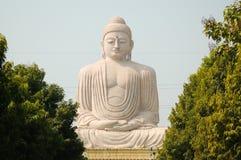 Estátua da Buda em Bogh Gaya, Índia Imagens de Stock Royalty Free