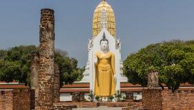 Estátua da Buda em Phitsanulok, Tailândia Fotografia de Stock