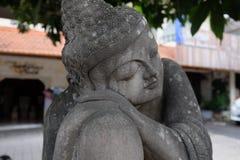 Estátua da Buda em Ubud fotografia de stock royalty free