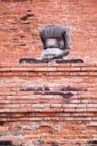 Estátua da Buda em Wat Mahathat, Tailândia Imagem de Stock