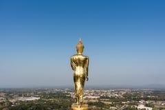 Estátua da Buda em Wat Phra That Khao Noi Fotografia de Stock Royalty Free