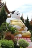 Estátua da Buda feliz Fotografia de Stock Royalty Free