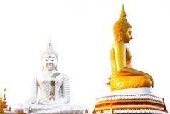 Estátua da Buda goldtone Foto de Stock Royalty Free