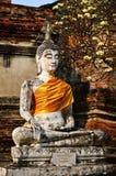 Estátua da Buda no mongkol de yai chai do wat Foto de Stock Royalty Free