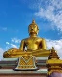Estátua da Buda no templo budista Imagem de Stock Royalty Free