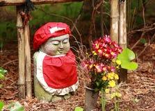 Estátua da Buda no templo Kanazawa Japão de Daijyoji Imagem de Stock Royalty Free