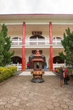 Estátua da Buda usada como amuletos do budismo Fotos de Stock