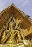 Estátua da Buda, Wat Tham Sua, Kanchanaburi, Tailândia Foto de Stock Royalty Free