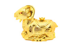 Estátua da cabra pelo ano novo chinês 2015 Imagem de Stock Royalty Free
