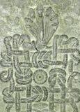 Estátua da cobra de sete cabeças Foto de Stock Royalty Free