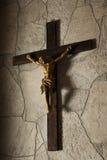 Estátua da crucificação do Jesus Cristo Foto de Stock