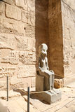 Estátua da deusa de Sekhmet fotos de stock royalty free