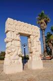 Estátua da fé em Jaffa. Imagens de Stock Royalty Free