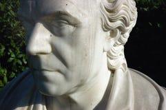 estátua da face fotografia de stock royalty free