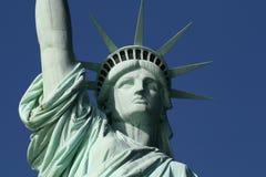 Estátua da face da liberdade Fotografia de Stock Royalty Free