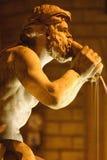 Estátua da fonte Foto de Stock