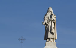 Estátua da freira Fotografia de Stock