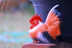 Estátua da galinha Fotografia de Stock Royalty Free