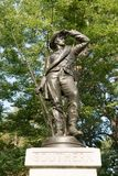 Estátua da guerra civil imagens de stock royalty free