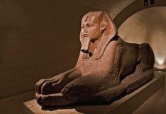 Estátua da lápide de Egiptian Foto de Stock