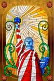 Estátua da liberdade ilustração do vetor