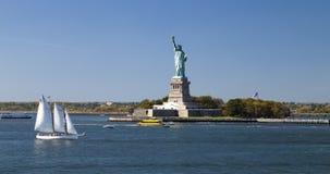 A estátua da liberdade Fotos de Stock