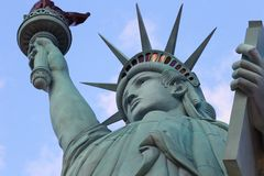 A estátua da liberdade, América, símbolo americano, Estados Unidos, New York imagens de stock royalty free
