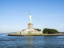 Estátua da liberdade - 31 de julho de 2017, Liberty Island, porto de New York, NY Imagens de Stock Royalty Free