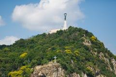 Estátua da liberdade em Budapest Foto de Stock