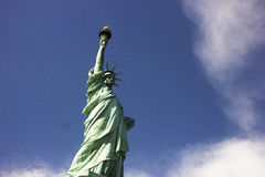 A estátua da liberdade em New York Fotografia de Stock Royalty Free