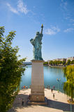 Estátua da liberdade em Paris Fotos de Stock