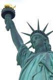 Estátua da liberdade (fundo branco) imagem de stock