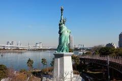 Estátua da liberdade no Tóquio de Japão Foto de Stock