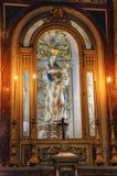 Estátua da mãe do deus na catedral de Palermo. Sicilia, Itália Fotos de Stock Royalty Free