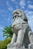 Estátua da pedra de Kylin Fotos de Stock Royalty Free