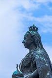 Estátua da rainha Victoria Windsor, Reino Unido foto de stock