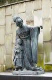 Estátua da senhora Borboleta Fotos de Stock