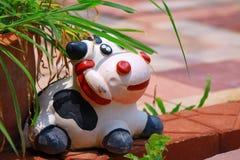 Estátua da vaca Fotografia de Stock