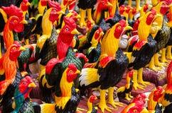 Estátua das galinhas Foto de Stock Royalty Free