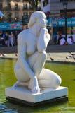 Estátua das mulheres - Barcelona Imagens de Stock