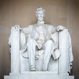 Estátua de Abraham Lincoln fotos de stock