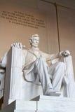 A estátua de Abraham Lincoln fotos de stock