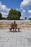 Estátua de Abraham Lincoln em Richmond, Virgínia fotos de stock royalty free