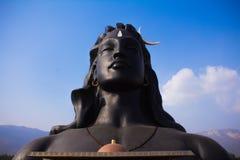 Estátua de Adiyogi Shiva foto de stock