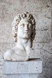 Estátua de Alexander o grande no museu da ágora em Atenas Grécia Foto de Stock