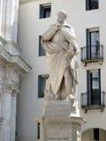 Estátua de Andrea Palladio em Vicenza Foto de Stock Royalty Free